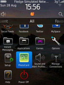 free PhotoCard v1.0.5 for blackberry apps
