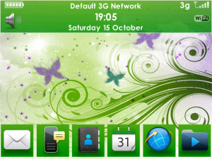Smart Butterfly ios7 icons Theme for blackberry
