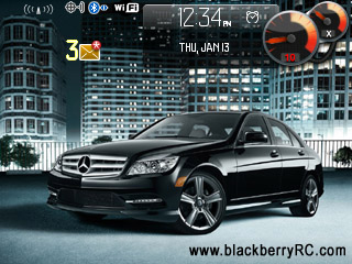 <b>Benz C-Class for blackberry 8330 themes os4.5</b>