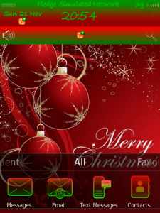 Merry Christmas for 9800 torch theme