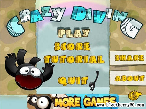 Crazy Diving v1.0.1 for blackberry 85xx,93xx game