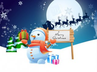 happy christmas FOR bb 640x480 wallpaper