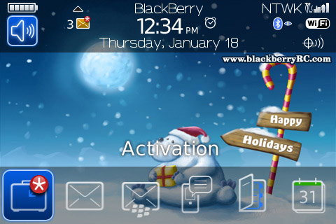 <b>Happy Christmas for bold 9000 os4.6 themes</b>