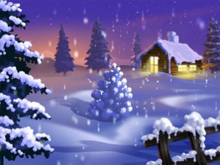 Snow xmas for blackberry storm 360x480 wallpapers
