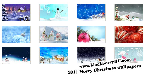 2011 Merry Christmas for playbook 1024x600 wallpa