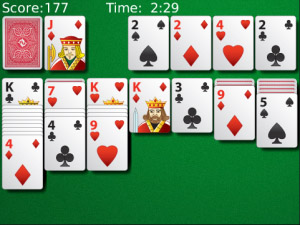 Solitaire v2.6.1 for blackberry OS 5.0+ games