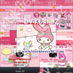 My Melody (マイメロディ) for blackberry 930