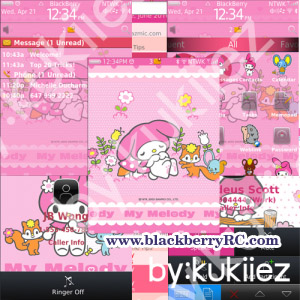 My Melody (マイメロディ) for blackberry 980