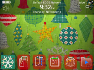<b>A Christmas Gift v2 for blackberry os5.0+ themes</b>