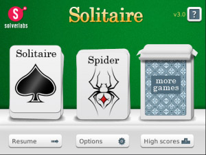 Free Solitaire v3.3.1 for blackberry games