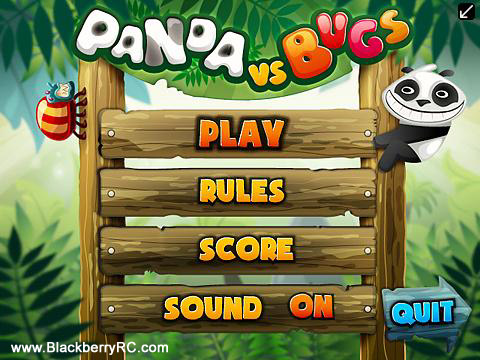 free Panda vs Bugs v1.0.4 for BB 320x240 games