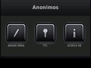 Anonimos v1.2.0 for blackberry apps