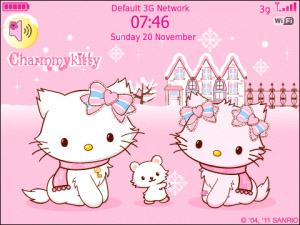 Charmmy HelloKitty Pinky Winter