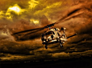 Helicopter for 9530 black wallpaper
