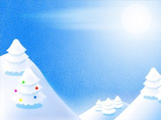Snow Christmas Photo Wallpaper