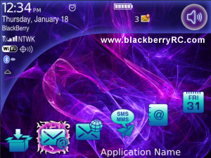 Cosmos themes for blackberry 9900,9930 os7.0