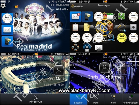 Real Madrid for bb bold 9700 themes