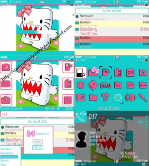 Hello Grr 1.0 for blackberry 9700,9780 themes os6