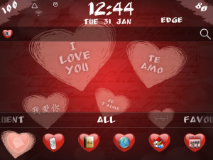 Valentine Animated v2.0 - OS7 theme