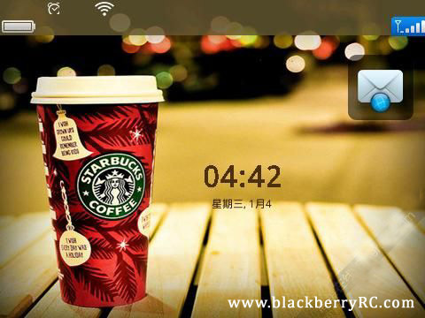 I Love Starbucks os7 icons for 9780,9700,9650 themes