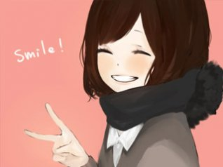 <b>Smile cute girl for hd 360x480 wallpaper</b>