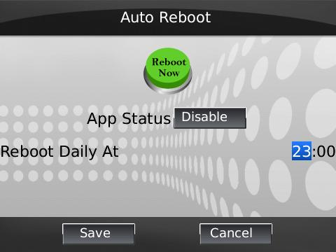 free Auto Reboot v1.6.0 blackberry applications