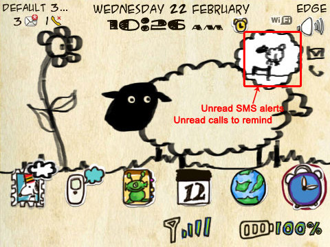 <b>Doodle Sheep theme ringtones free download</b>