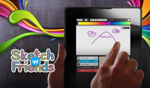 Sketch W Friends v1.2.4 for BlackBerry PlayBook