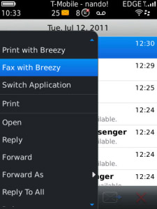 Breezy - Print and Fax v1.4.0
