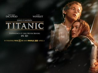 <b>3D Titanic 480x800 wallpaper for blackberry 9850,</b>
