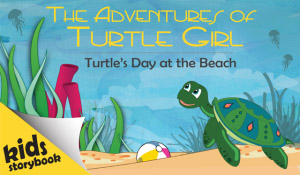 Turtle's Day at the Beach - Interactive Storybook