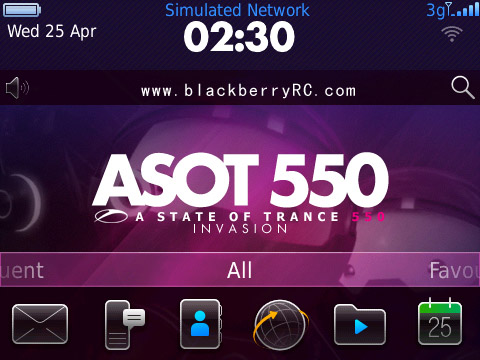 ASOT 550 for bold 9700, 9780 os6.0 themes