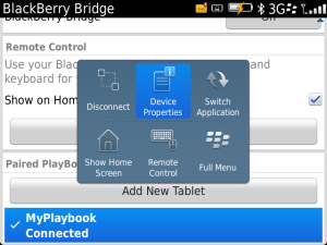 <b>BlackBerry Bridge v2.0.0.30</b>