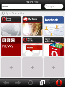 Operamini 7.0.29990 for bb os6.0, 7.0 apps