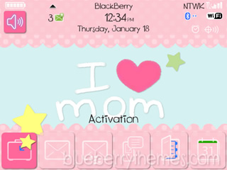 Happy Mother's Day for bb 9000 os5.0/4.6 themes