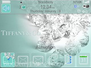 Tiffany & Co for bb 9700 theme os5.0