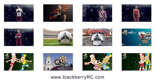 <b>UEFA EURO 2012 - blackberry playbook backgrounds </b>