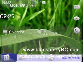 Blue Nature for blackberry 83xx,88xx curve themes