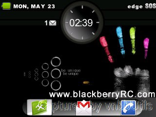 Black Wold for blackberry curve 83xx,88xx themes
