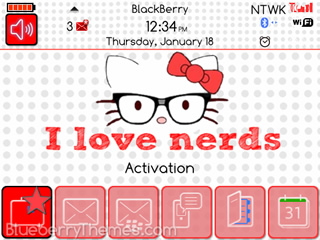 i love nerds themes for bb 9000 download
