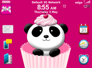 <b>Cherry Panda for blackbery 9900, 9930 themes os7</b>