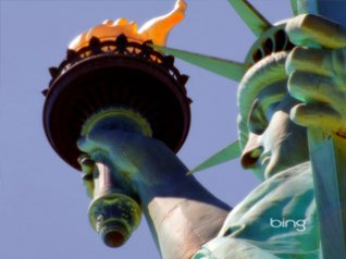 Statue of Liberty for blackberry bold wallpapers