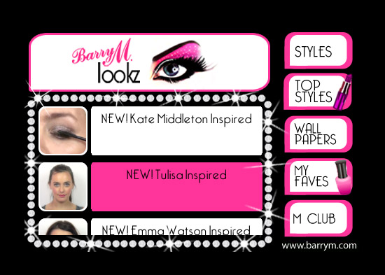 Lookz - Barry M - Makeup Beauty Fashion and Style