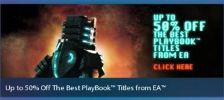 <b>Best EA PlayBook Games Up to 50% Off Limited Time</b>