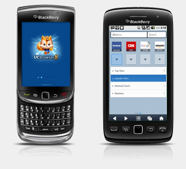 UC Browser v7.8.0.95 for blackberry os4.2+ apps
