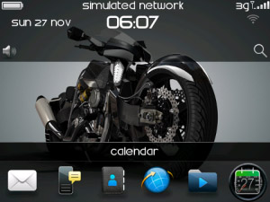 <b>Concept Bike for blackberry 97xx,9650 themes</b>
