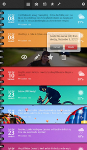 <b>A Day in Life - Journal v1.0 for BlackBerry PlayB</b>
