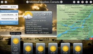<b>Animated Weather HD + VOICE v6.0</b>
