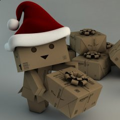 <b>Xmas Danbo for blackberry z10 wallpaper</b>