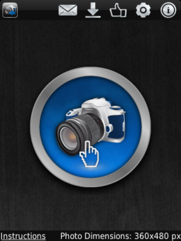 <b>Silent Foto v1.0.10.1 for blackberry smartphones</b>